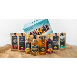 Balíček slovenskej medoviny, sirupov, čajov a medu v prémiovej kvalite