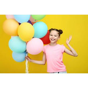 Balóny na párty či svadbu s héliom (30, 50 alebo 100 kusov)