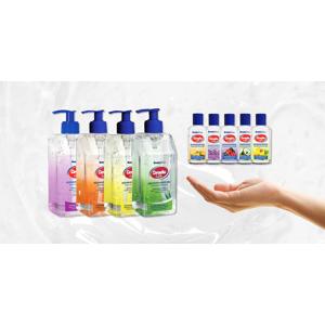 Biocídne antibakteriálne gély s množstvom príjemných vôní na výber