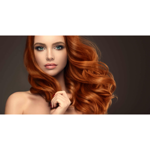 Dámsky strih s výživnou kúrou alebo farbenie vlasov v salóne EVELYN style