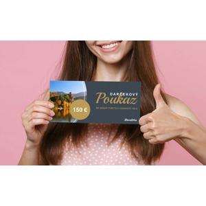 Darčekový poukaz ZľavaDňa na nákup pobytu