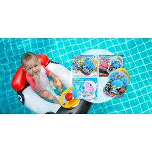 Detský rozprávkový nafukovací čln so strieškou i bez (rôzne motívy)
