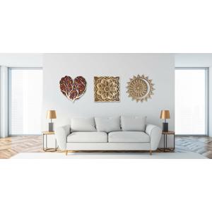 Drevená mandala – kúsok prírody a harmónie do vášho domova