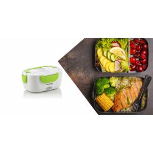 Elektrický obedár na jedlo ideálny na ohrievanie jedla alebo jeho udržiavanie v teple