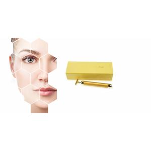 Galvanická žehlička pre omladenie pleti - Golden Beauty Bar