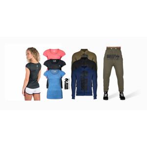 Gorilla Wear: značkové dámske funkčné tričká, pánske tepláky, šortky a bundy