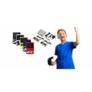 Herné retro konzoly 400v1 s možnosťou prepojenia s TV alebo konzola so 620 hrami s dvoma ovládačmi