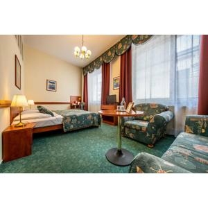 Hotel Arcus*** len 10 min. pešo od centra Bratislavy, s priestrannými izbami a možnosťou parkovania