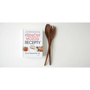 Kniha Pšeničný mozog - vyše 150 bezlepkových receptov, ktoré vám zmenia život