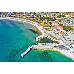 Komfortný domček pre 8 ľudí len 100 m od mora na chorvátskom ostrove VIR