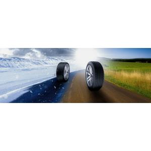 Kompletné prezutie pneumatík alebo prehodenie kolies na diskoch s vyvážením, aj s možnosťou pick-up servisu