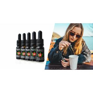 Kvalitný CBD olej alebo prášok, ktorý priaznivo pôsobí na telo i psychiku a využíva sa na liečebné účely