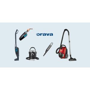 Moderné vysávače ORAVA: tyčový 2v1, mini, na popol alebo extratichý vreckový