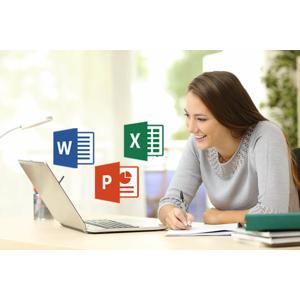 Online kurz s lektorom naživo - balík Microsoft Office - Excel, Word alebo PowerPoint