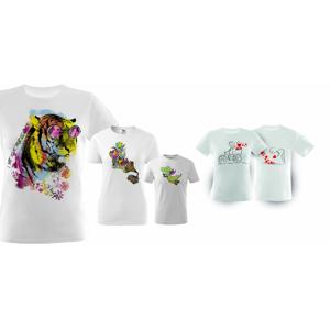 Originálne tričko s potlačou, omaľovánkou alebo pre páry od FaxCOPY