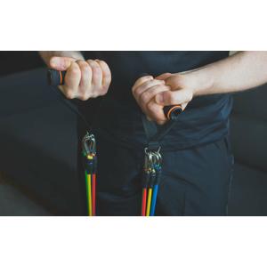 Posilňovacia guma na cvičenie (11-dielna sada)