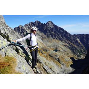 Prvá via ferrata vo Vysokých Tatrách cez Priečne sedlo (2 352 m) s certifikovaným horským sprievodcom