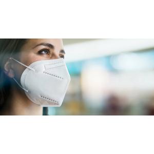 Respirátor KN95/FFP2 bez výdychového filtra