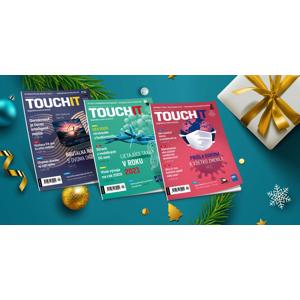 Ročné predplatné časopisu TOUCHIT + bezdrôtové slúchadlá Niceboy HIVE podsie