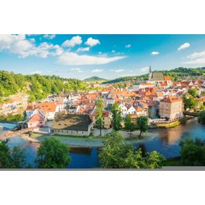 Rozprávkový Český Krumlov zo zoznamu UNESCO s pobytom vo vynovenom penzióne Golden Crown