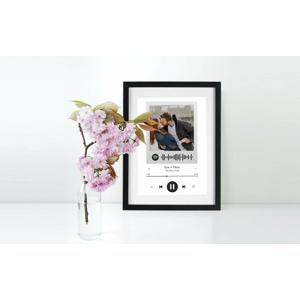 Spotify Love Frame - originálny darček nielen pre zamilovaných