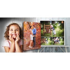 Tlač fotografií na fotoplátno – množstvo rozmerov na výber