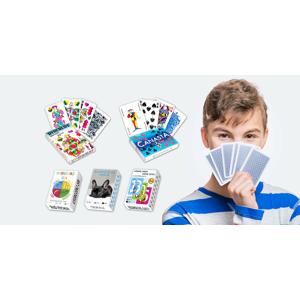 Zabavte sa kdekoľvek: Balíčky kariet a didaktických hier pre deti aj dospelých