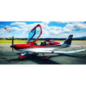 Zážitkový let pre 1 osobu na skvelom dizajnovom lietadle Bristell - aj s možnosťou pilotovania