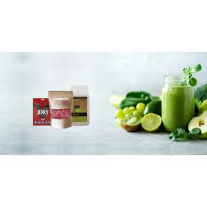 Zdravé produkty z GymBeam – beef jerky, maslá, musli, proteinely a lyofilizované ovocie