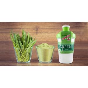 Zelený jačmeň - nápoj plný vitamínov a šejker zdarma